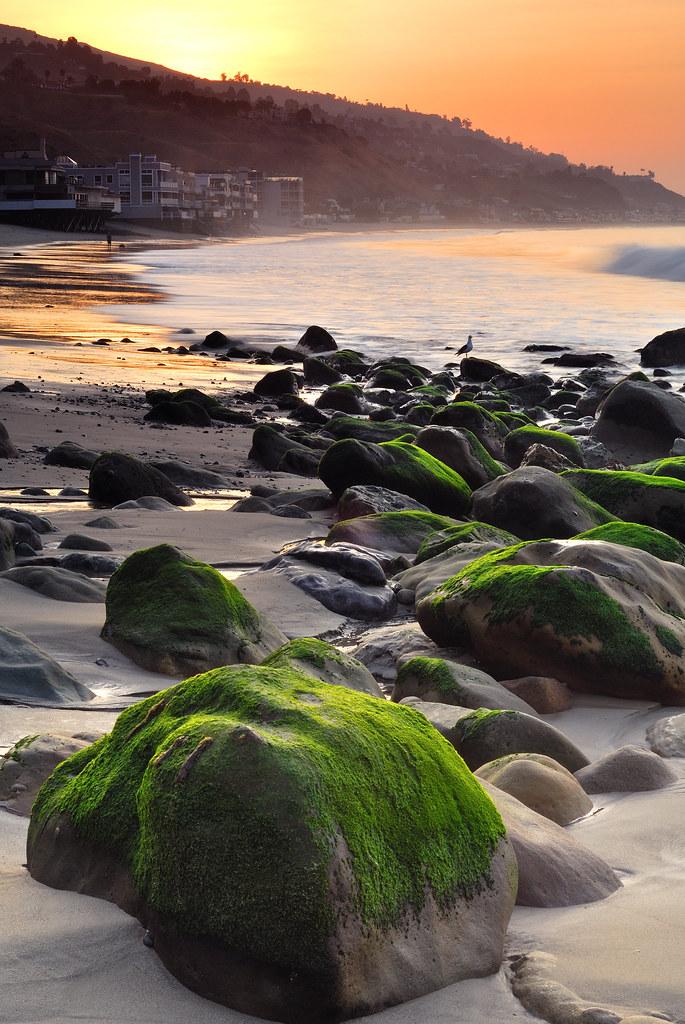 Malibu Kalifornien Usa Sonnenaufgang Sonnenuntergang Zeiten