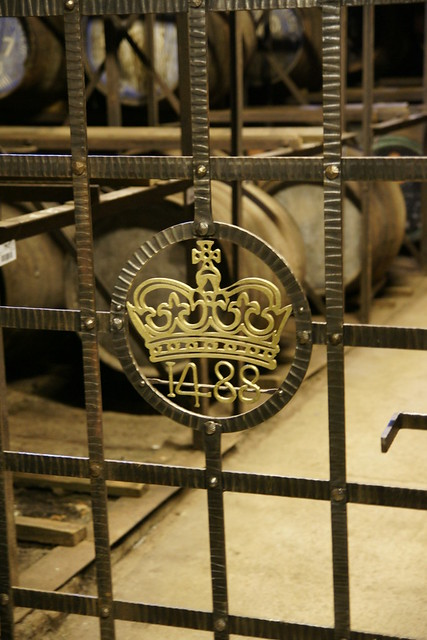Gate sealing the whisky into the bonded warehouse