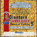 Planters Jumbo Block - Golden Jubilee 50th Anniversary - 5-cent peanut candy bar wrapper - 1956