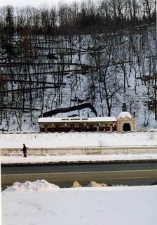 Banská Bystrica Mesto Stanice, Railway station, Slovakia   March 1993