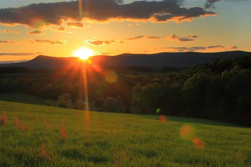 sunset mountains virginia kennedypeak scenicviews pagevalley massanuttenmountain pagecounty