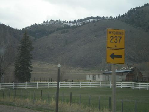 US-89 North at WY-237