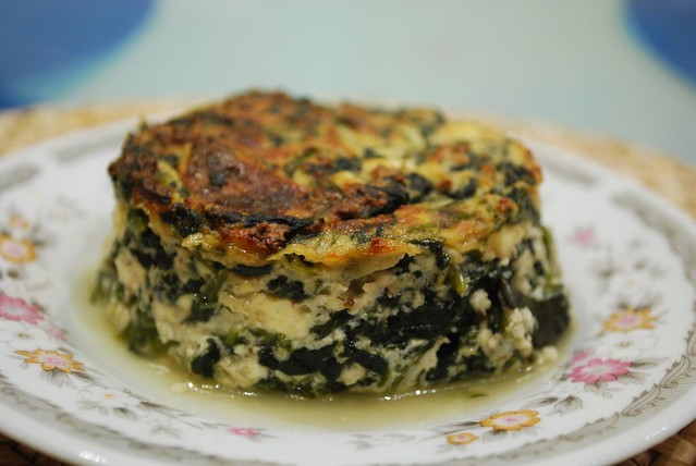 Spinach and Ricotta Pudding | Flickr - Photo Sharing!