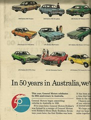 50 years of Holden built cars - part 3