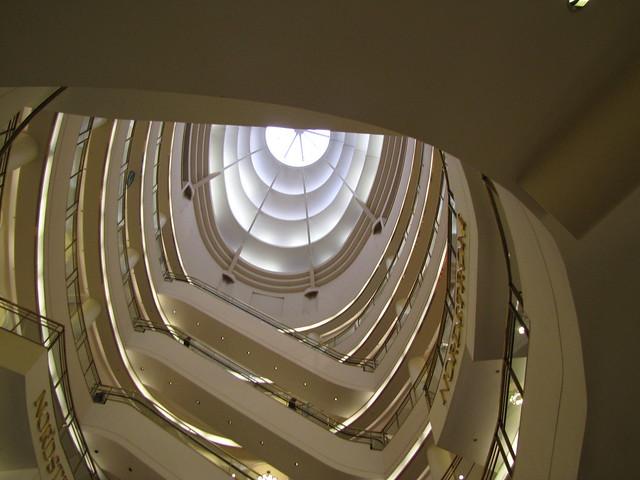 Nordstrom's escalator shaft! :D