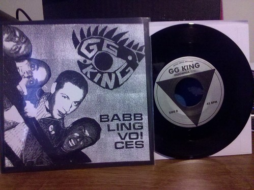 "GG King - Babbling Voices 7"" by factportugal"