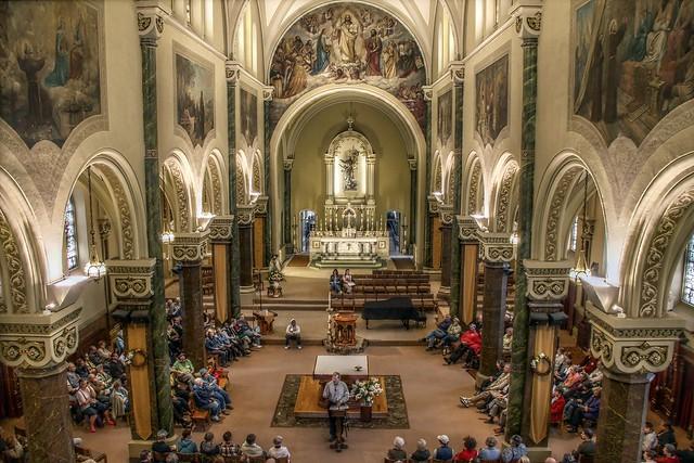 History Talk at St Francis of Assisi