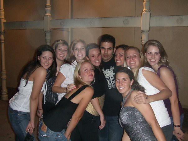 1 man 6 girls