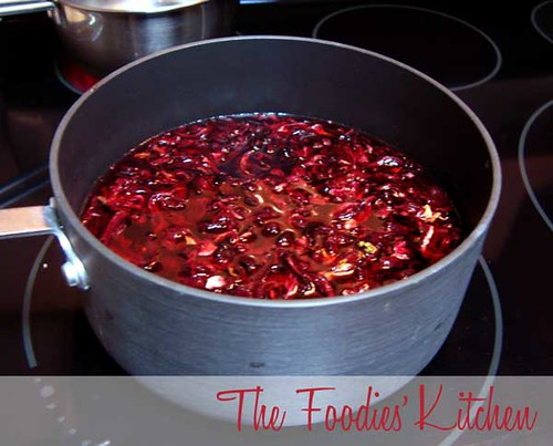 Roselle (Rosa de Jamaica) Syrup