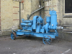Pumping machinery at Abbey Mills