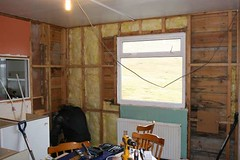 Insulating the dining area