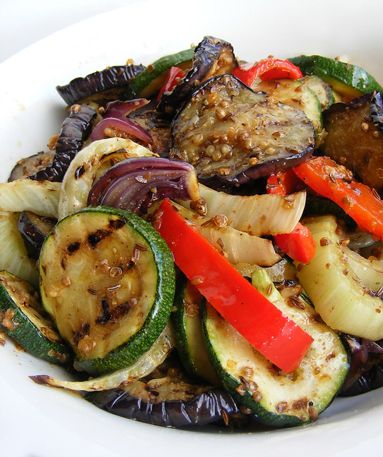 Oven-roasted Vegetables with Tabil | Flickr - Photo Sharing!