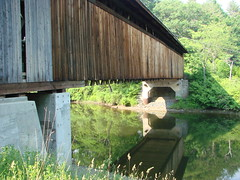 Edgell Bridge Reflected
