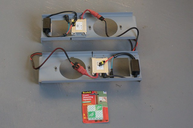 Mounting HID Ballasts