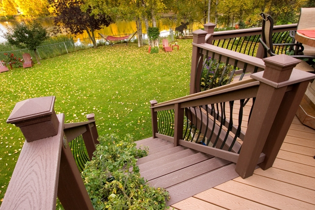 deck design ideas trex cedar hardwood alaskan0138 flickr photo