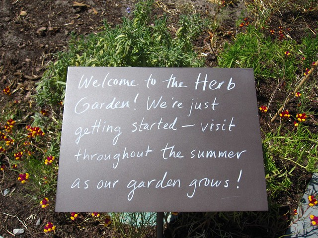 Welcome to the Herb Garden!