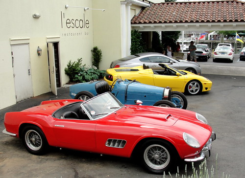Ferrari California 250 GT Spider, Bugatti, Ferrari 360 Spider, Bentley Continental