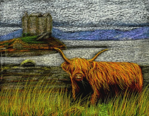 Deborah PHILLIPS artist, paintings and art at the Red Rag Scottish ...