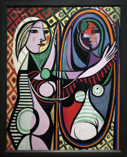 pablo picasso girl before a mirror flickr photo sharing. Black Bedroom Furniture Sets. Home Design Ideas