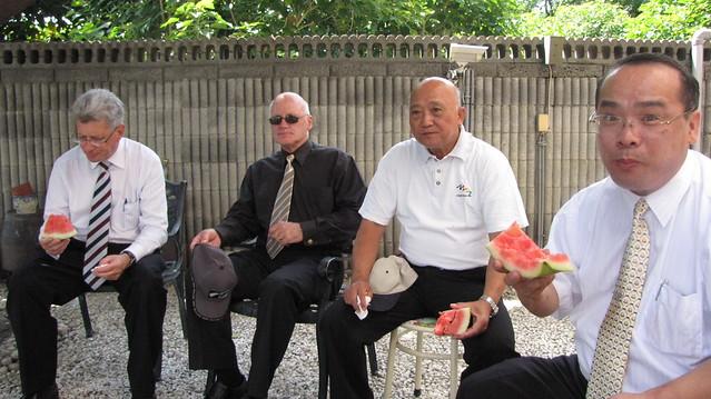 2010年5月份-金色山莊安排Hauraki市長拜會螺陽文教基金會前董事長