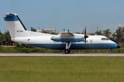 US Department of Justice / De Havilland Canada DHC-8-102Dash / N713M at SJU