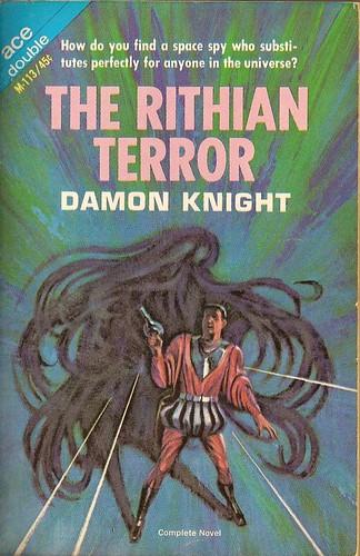 Jack Gaughan cover art - Belmont -Damon Knight - The Rithian Terror, 1965