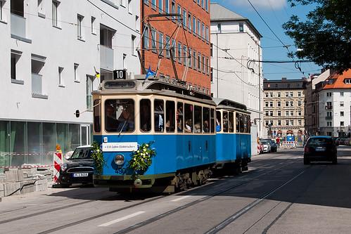 Zum Einsatz wird der D/f-Zug 490+1401 (hier beim Jubiläum 115 Jahre Elektrische) kommen
