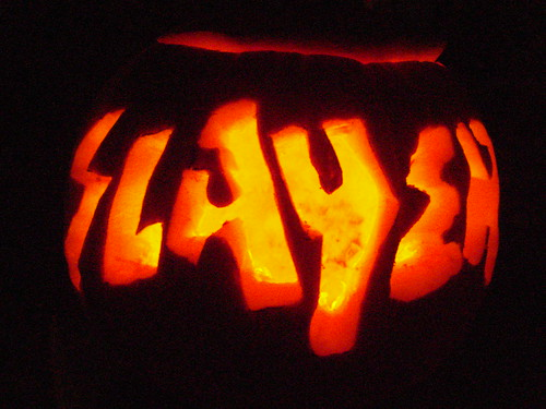 10/30/10 Slayer Jack-O-Lantern (Dark)