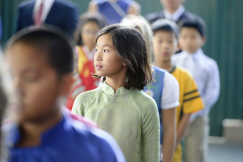 Young Pupil at UN School in Hanoi, Viet Nam