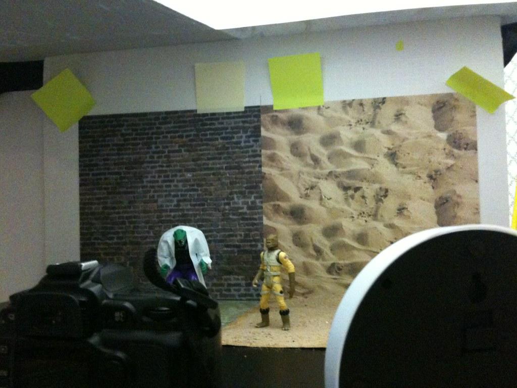 Lizard vs. Bossk Setup