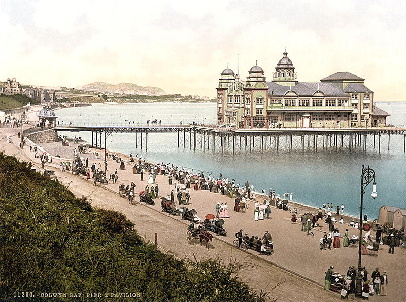 Pier and Pavilion, Colwyn Bay