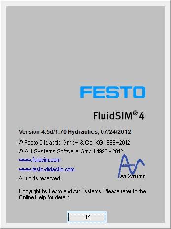 FluidSIM 4.5d -1.70 Hydraulics