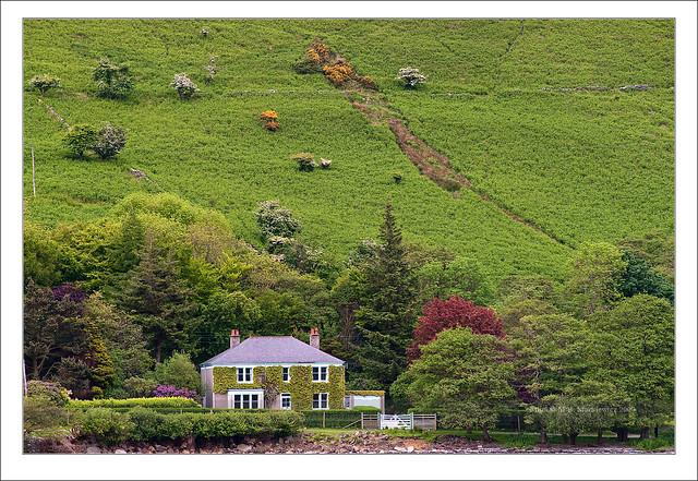Lochranza bay - Arran island