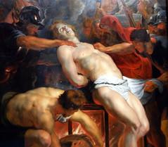 2009-11-15 München, Alte Pinakothek 118 Peter Paul Rubens, Martyrium des Hl. Laurentius (Detail).jpg