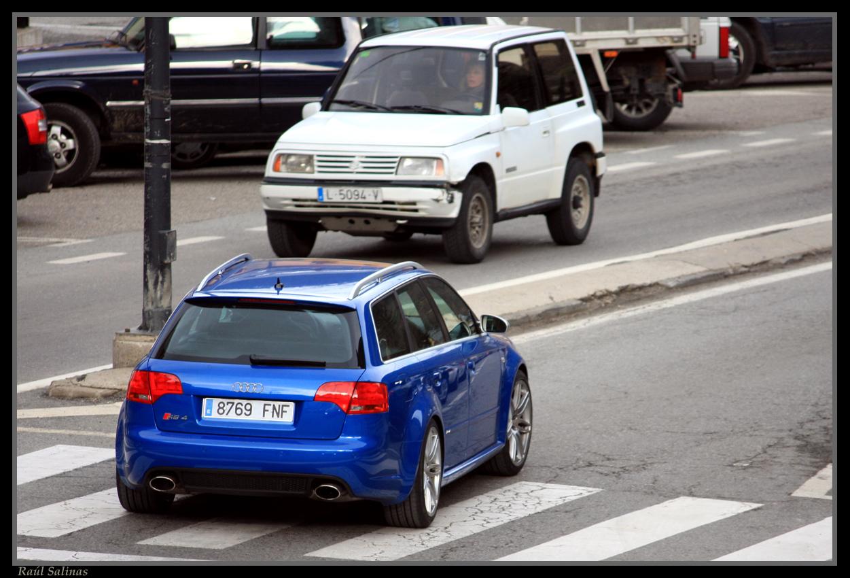 Audi RS4 B7 Avant VS Mercedes Benz C63 AMG VS Audi RS6 C6 ...