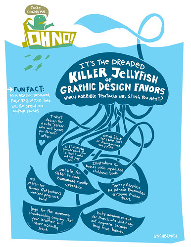 Killer Jellyfish of Graphic Design Favors