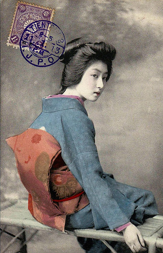 Geisha 1900s by UnklNik
