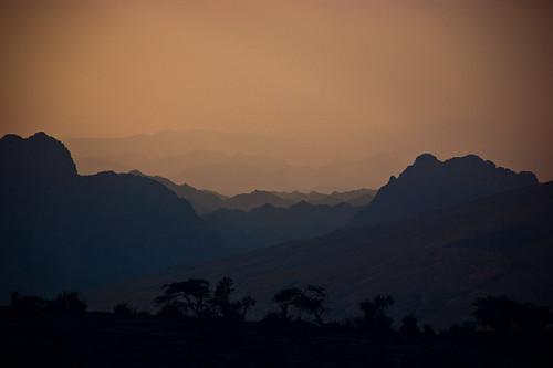 mountains dusk oman 2009 hajarmountains jebelshams sonyα350