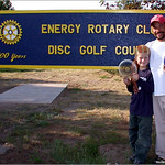 Kyle and Jeff Panis take 1st place in Open and Junior divisions at the 2004 Energy Rotary in Gillette, WY.