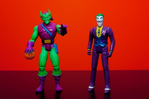 Green Goblin vs. The Joker (8/365)