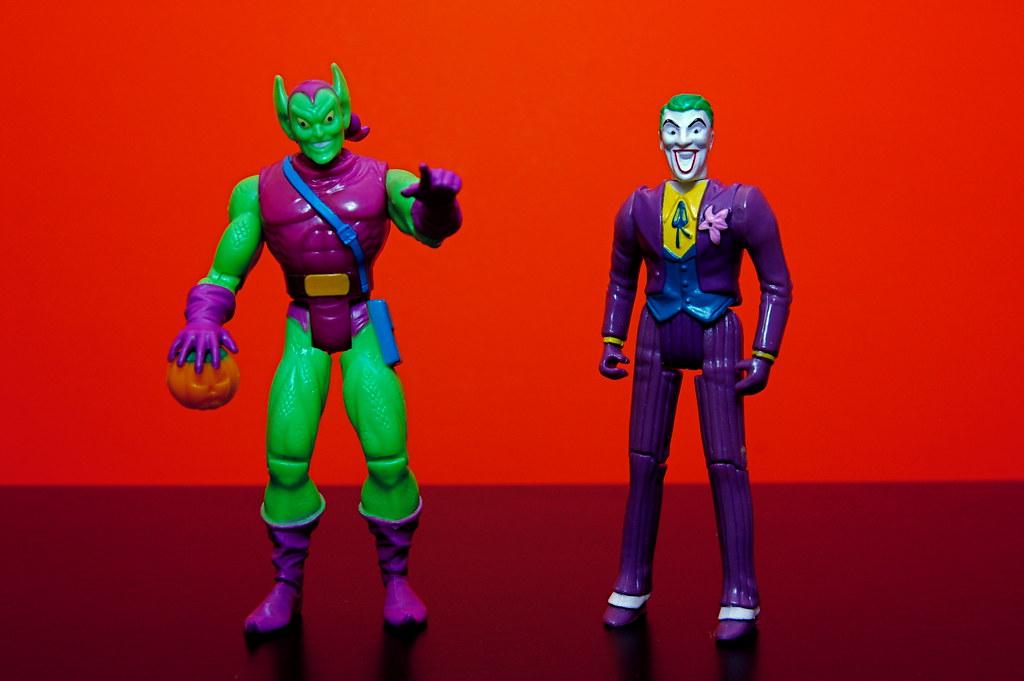 Green Goblin vs. The Joker (8/365)