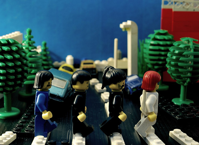 Lego Abbey Road