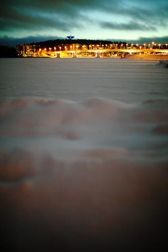 winter friends 2 lake snow ice night canon suomi finland eos frozen flickr frost mark 14 sigma ii mk2 5d 50 lumi talvi jyväskylä mkii markii yö tero järvi jää mark2 silta catchycolorsgreen jyväsjärvi jäätynyt maaniemi kuura