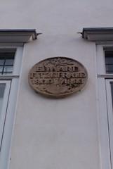 Photo of Edward Fitzgerald stone plaque