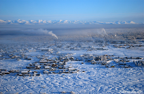 Tomtor, the valley of Oymyakon