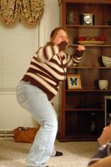 Brandy's touchdown dance