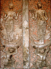 Décor du sanctuaire (Vat Si Saket, Vientiane)