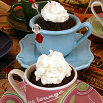 Hot Chocolate Cupcakes for a Winter