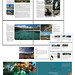 Page layout sample: 50 National Parks in Indonesia by Nugroho Adi