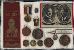 McKinley-Theodore Roosevelt Campaign and Inaugural Items, ca. 1900-1901